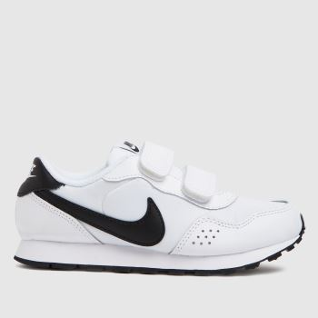 Nike White & Black Md Valiant Unisex Junior