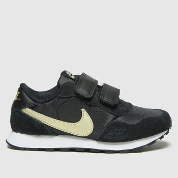 Nike Black & Gold Md Valiant Unisex Junior