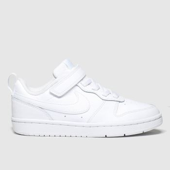Nike Weiß Court Borough Low 2 Unisex Junior