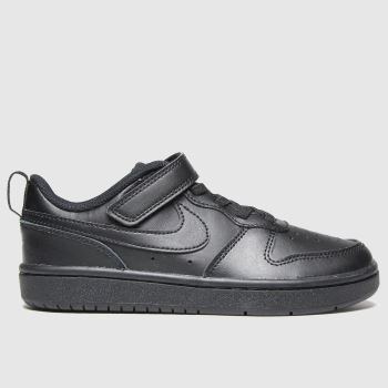 Nike Black Court Borough Low 2 Unisex Junior#