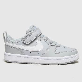 Nike Grey Court Borough Low 2 Unisex Junior