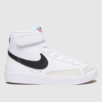 Nike White & Black Blazer Mid 77 Unisex Junior