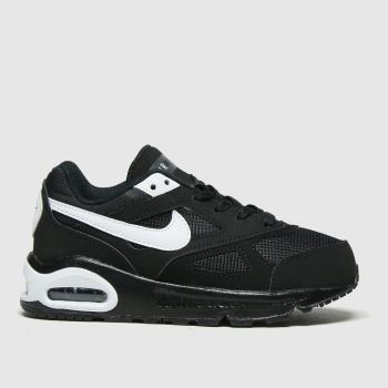 Nike Black & White Air Max Ivo Unisex Junior#