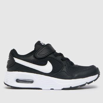 Nike Black & White Air Max Sc Unisex Junior