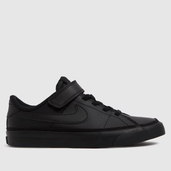 Nike Black Court Legacy Unisex Junior