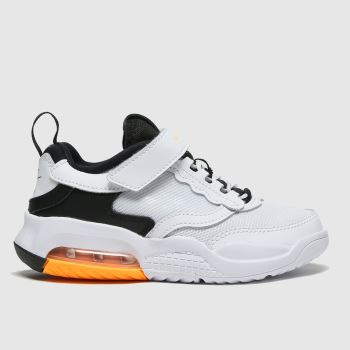 Nike Jordan White & Black Air Max 200 Unisex Junior