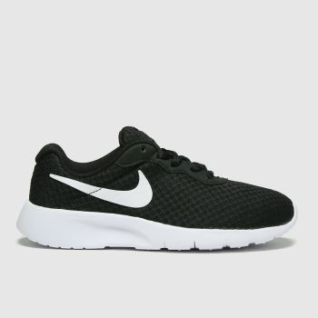 Nike Black & White Tanjun Unisex Junior#