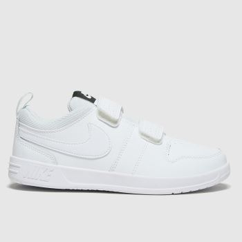 Nike White Pico 5 Unisex Junior