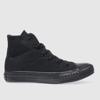 Converse Schwarz All Star Hi Unisex Junior