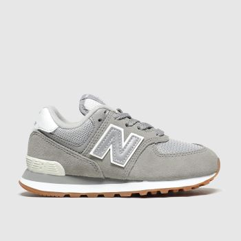 New Balance Grey 574 c2namevalue::Unisex Junior