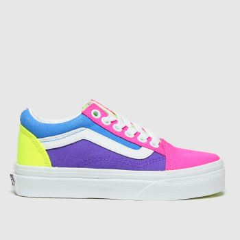 Vans Multi Old Skool Unisex Junior