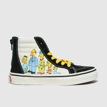 Vans Multi Sk8-hi Zip Simpsons Unisex Junior