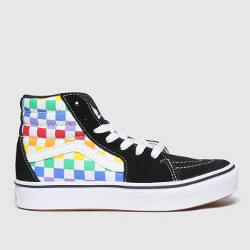 Vans Multi Comfycush Sk8-hi Unisex Junior