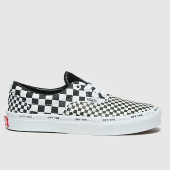 Vans Black & White Era Checkerboard Unisex Junior