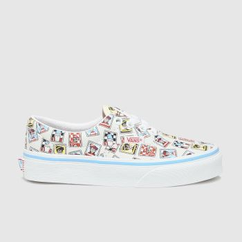 Vans White & Blue Era Wheres Waldo Unisex Junior