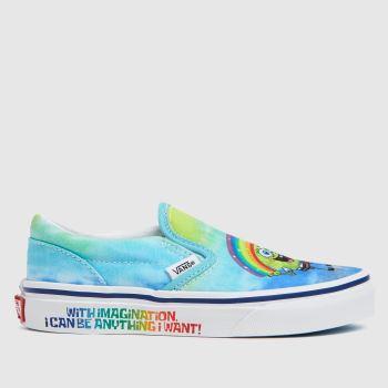 Vans Pale Blue Spongebob Slip-on Unisex Junior