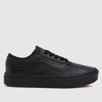 Vans Black Comfycush Old Skool Unisex Junior