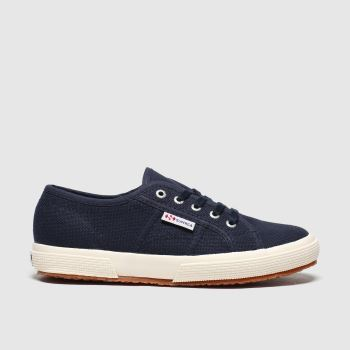Superga Navy 2750 Classic Unisex Junior