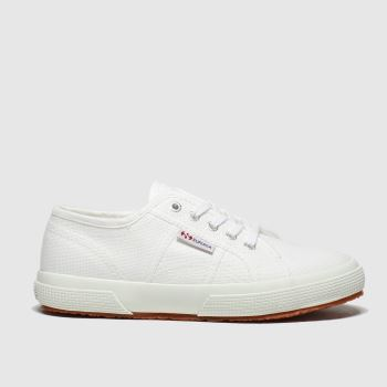 Superga White 2750 Classic Unisex Junior