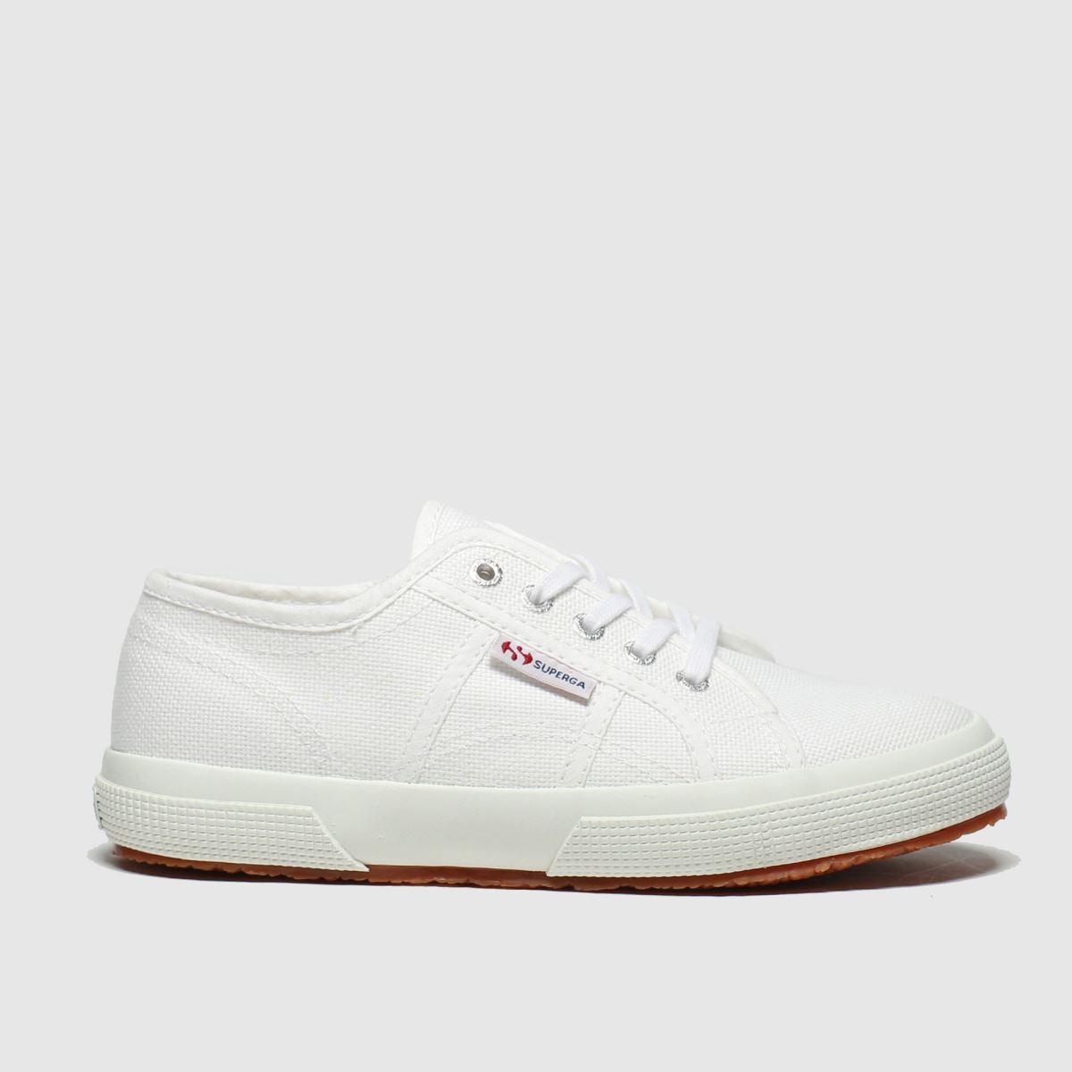 Superga White 2750 Classic Trainers Junior
