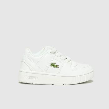 Lacoste White Thrill Unisex Junior