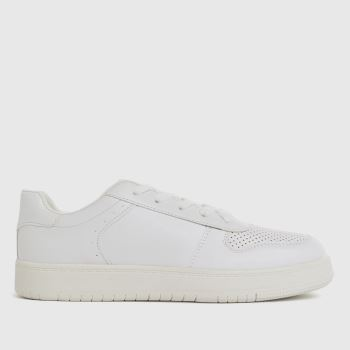 schuh White Mighty Lace Up Unisex Junior