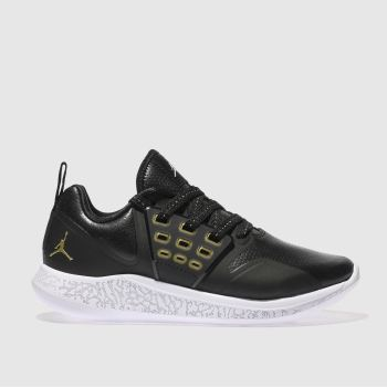 Nike Jordan Black & Gold GRIND Unisex Youth
