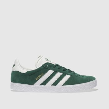 Adidas Dark Green Gazelle Unisex Youth