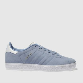 Adidas Pale Blue GAZELLE Unisex Youth