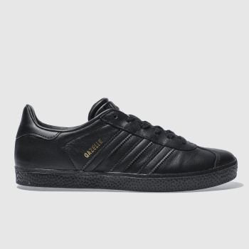 Adidas Black Gazelle Unisex Youth#