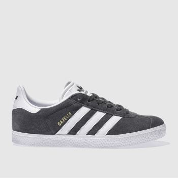 Adidas Dark Grey Gazelle Unisex Youth