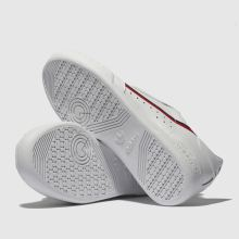 b6acfeecb95 Kids Unisex white   red adidas continental 80 trainers