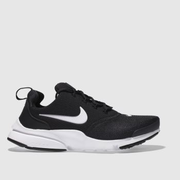 Nike Black & White Presto Fly Unisex Youth