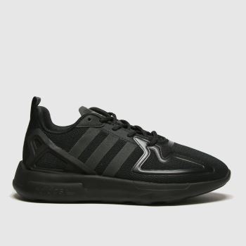 adidas Black Zx 2k Flux Unisex Youth