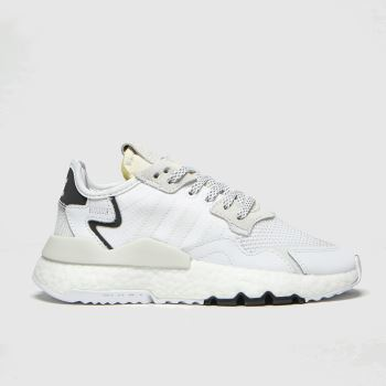 Adidas White Nite Jogger Unisex Youth#