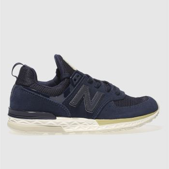 New Balance Navy 574 Sport Unisex Youth