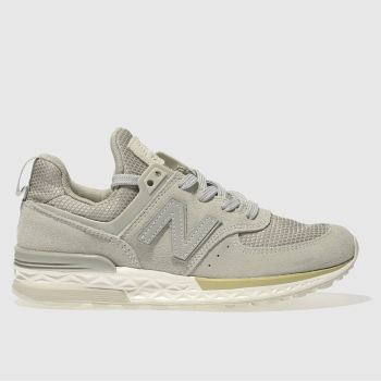 New Balance Grey 574 Sport Unisex Youth