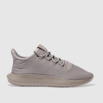ADIDAS TAUPE TUBULAR SHADOW TRAINERS YOUTH