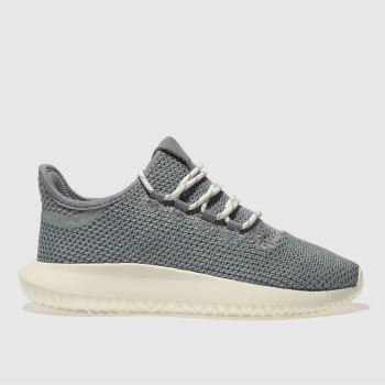 Adidas Grey Tubular Shadow Unisex Youth