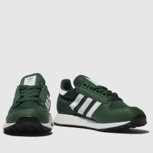 83553a4d871d7d Kids Unisex green adidas forest grove trainers