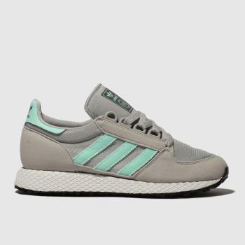 Adidas Light Grey Forest Grove Unisex Youth