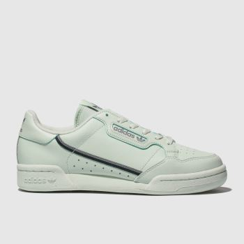 Adidas Light Green Continental 80 Unisex Youth