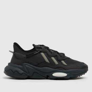 adidas Dark Grey Ozweego Unisex Youth