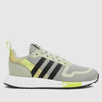 adidas White & Yellow Multix Unisex Youth