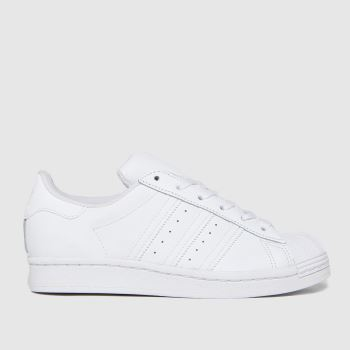 adidas White Superstar Unisex Youth