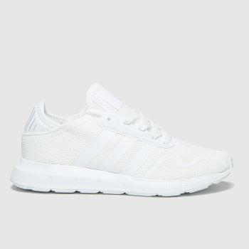 adidas White Swift Run X Unisex Youth