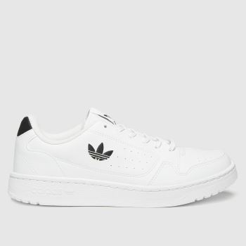 adidas White & Black Ny 90 Unisex Youth