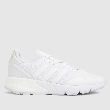 adidas White Zx 1k Boost Unisex Youth