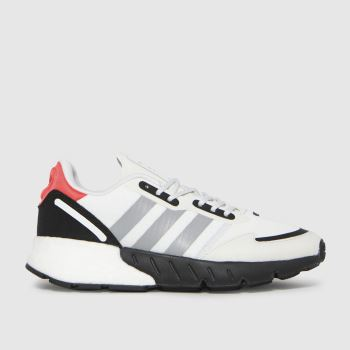 adidas White & Black Zx 1k Boost Unisex Youth