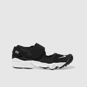nike black rift trainers youth